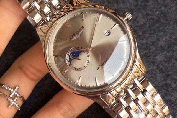 浪琴日历型手表